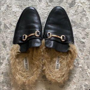 Steve Madden Black Jill loafers - sz 8